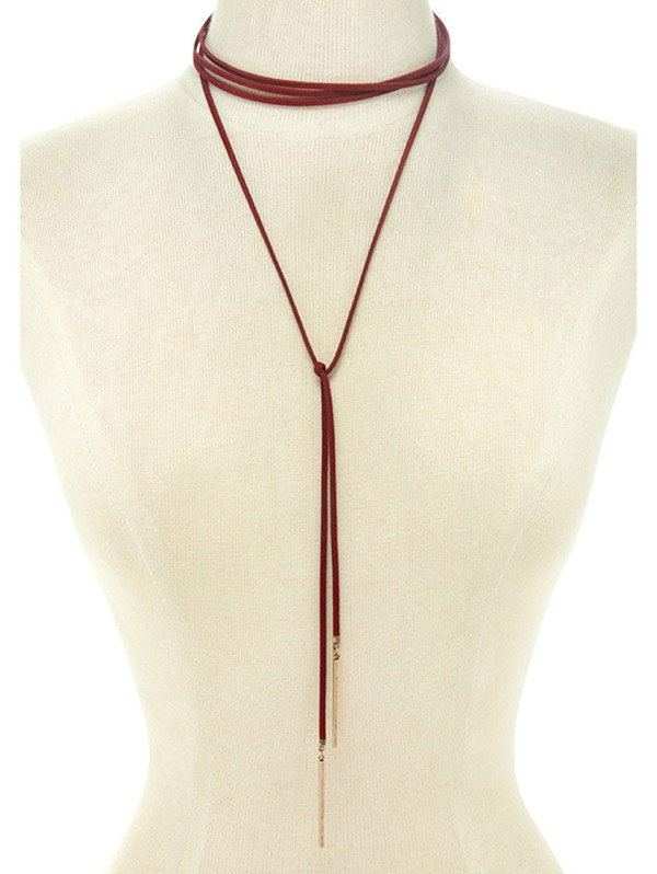 Choker Ribbon Sweater Chain