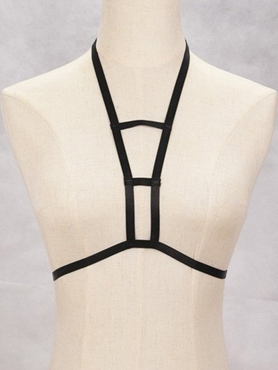 Cut Out Harness Bra Bondage Body Jewelry
