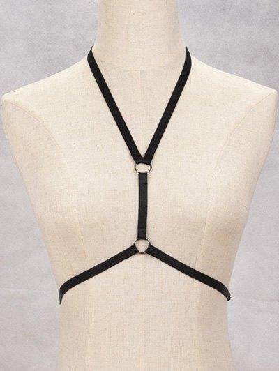 Circle Harness Bra Bondage Body Jewelry