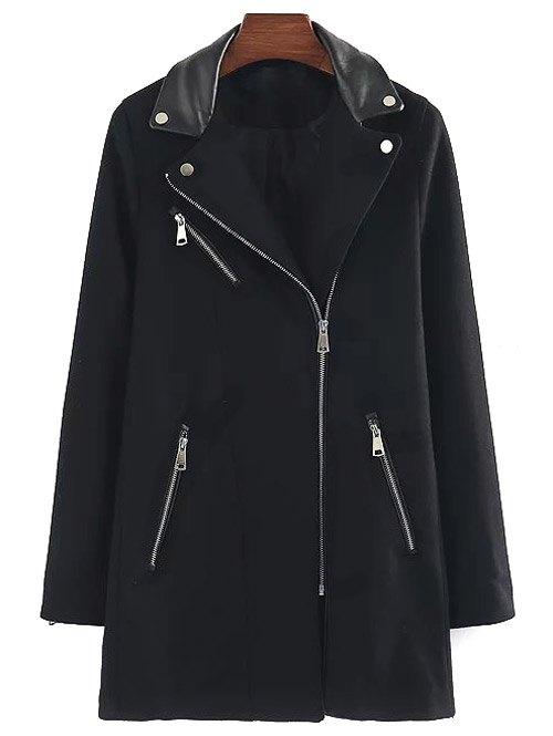 Wool Blend Walker Coat