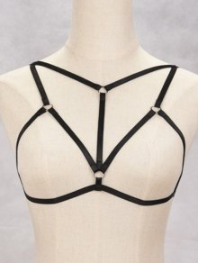 Bra Bondage Harness Hollowed Body Jewelry