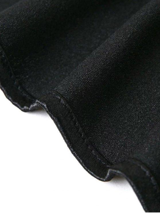 Off The Shoulder Velvet Smcok Top - SILVER M Mobile