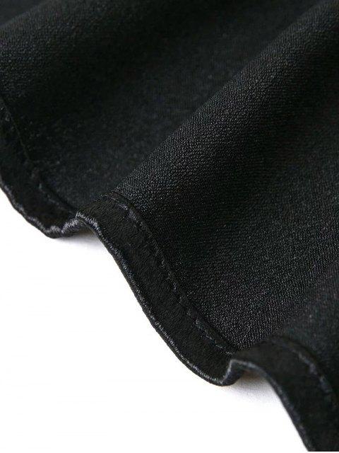 shops Off The Shoulder Velvet Smcok Top - BLACK S Mobile