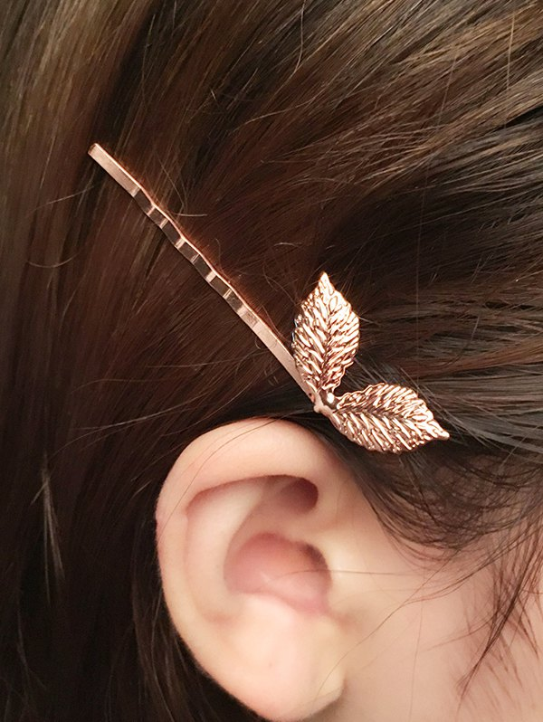 Adorn Leaves Hairpin