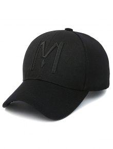 Letter M Baseball Cap
