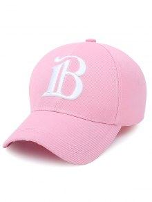 B Letter Baseball Hat