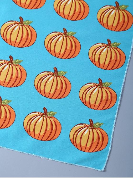 Halloween Pumpkins Handkerchief Scarf -   Mobile