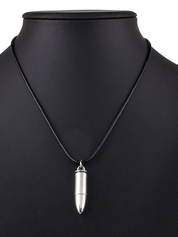 Bullet Alloy Necklace