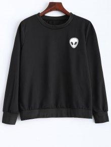 Fitting Skull Sweatshirt