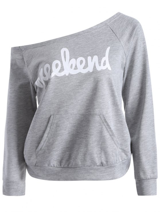 Weekend Sweatshirt - GRAY XL Mobile