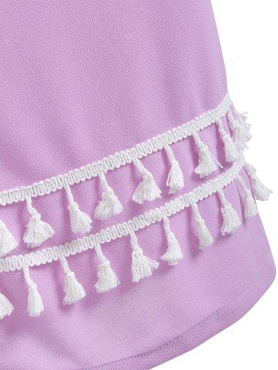 Maxi Meimerd Skirt - PURPLE XL Mobile