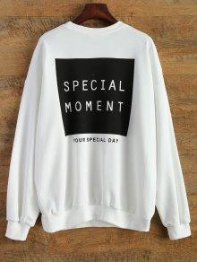 Sports Letter Sweatshirt