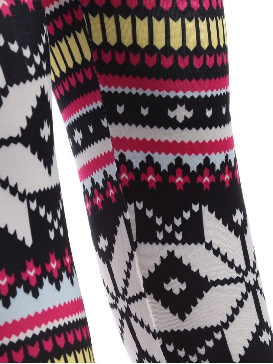 Christmas Snowflake Leggings - COLORMIX ONE SIZE Mobile