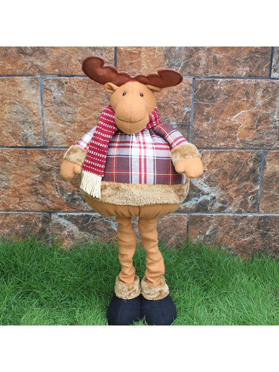 Christmas Party Prop Elk Stretched Puppet Toy - COLORMIX  Mobile