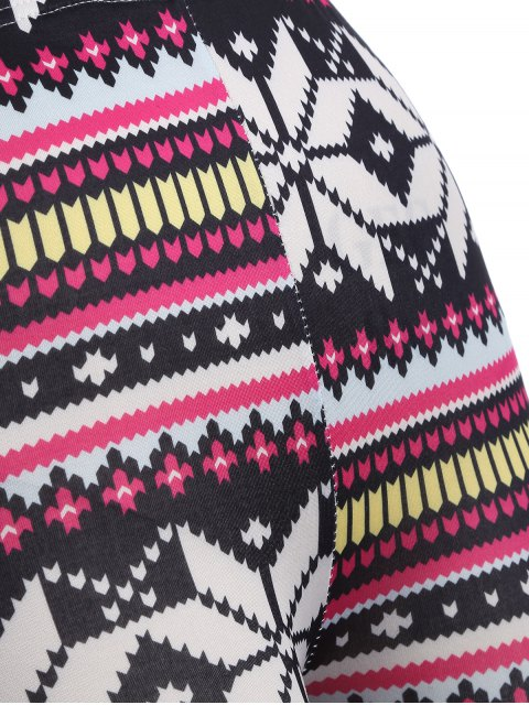 fancy Christmas Snowflake Leggings - COLORMIX ONE SIZE Mobile