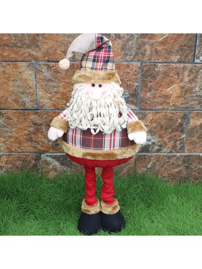 Christmas Party Prop Stretched Santa Puppet Toy - COLORMIX  Mobile