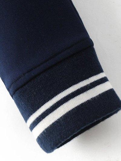 Fleece Lined Slim Pants - BLACK M Mobile