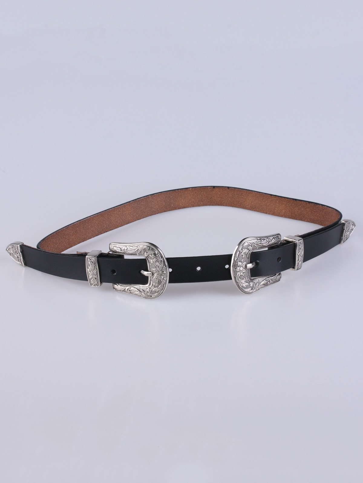 Double Pin Buckle Belt