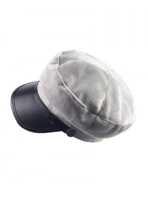 new Winter Outdoor Warm Military Baseball Cap - GRAY  Mobile