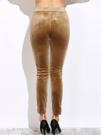 Slimming Leggings - LIGHT COFFEE L Mobile