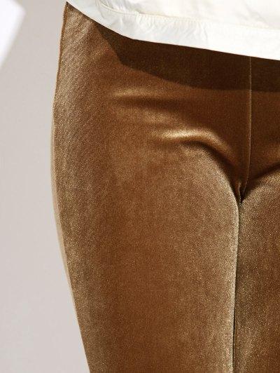 Slimming Leggings - LIGHT COFFEE M Mobile