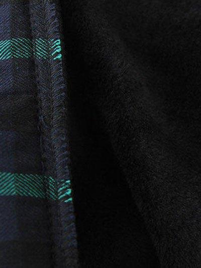 Plus Size Layered Hem Sweatshirt - RED WITH BLACK XL Mobile