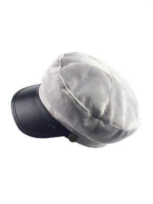 Winter Outdoor Warm Military Baseball Cap - Gray