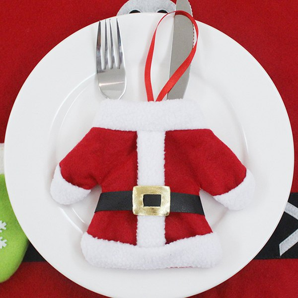 Christmas Tableware Cover Bag