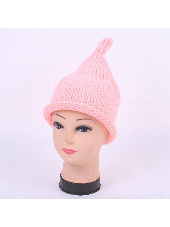 Winter Teat Shape Knit Hat - PINK  Mobile