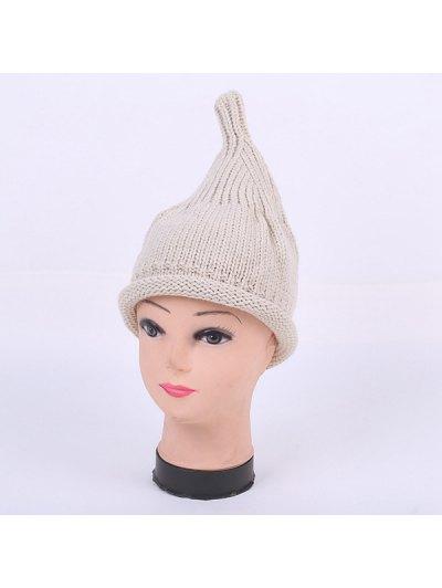 Winter Teat Shape Knit Hat - LIGHT GRAY  Mobile