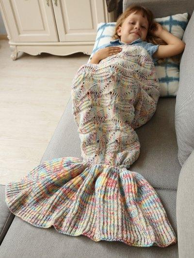 Sleeping Bag Bedding Mermaid Blanket - COLORMIX  Mobile