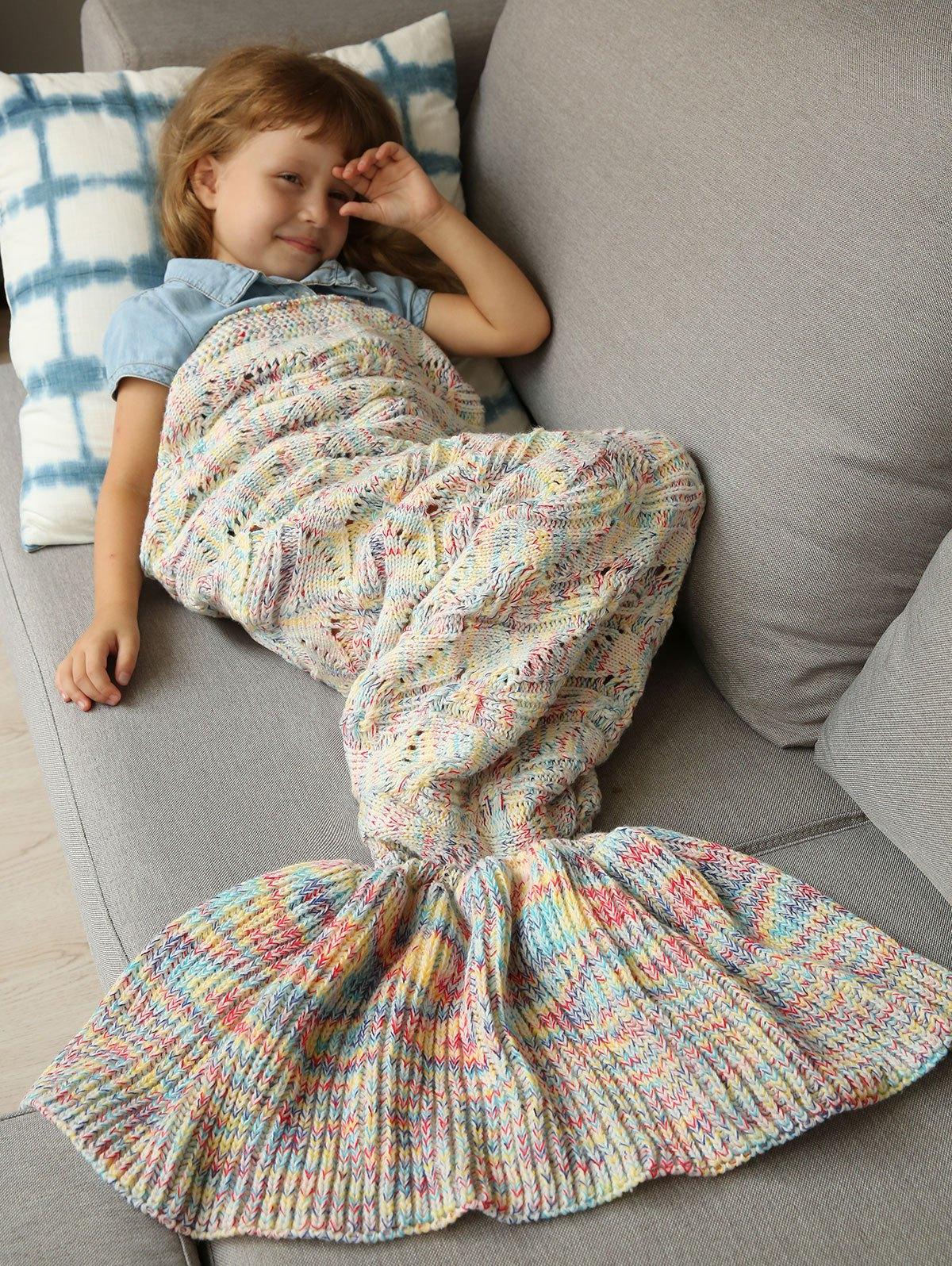 Sleeping Bag Bedding Mermaid BlanketAccessories<br><br><br>Color: COLORMIX