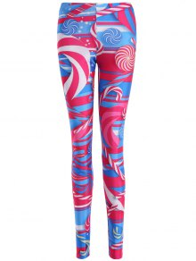 Skinny Lollipop Pattern Leggings
