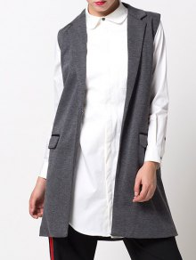One-Button Waistcoat