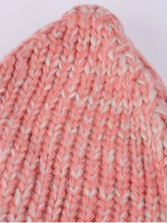 Knitting Patterns Chunky Crochet Hat - WINE RED  Mobile