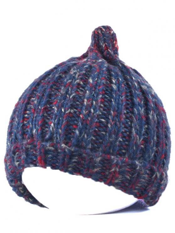 Knitting Patterns Chunky Crochet Tapered Hat - CADETBLUE  Mobile