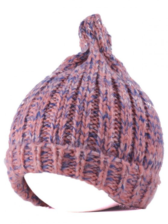 Knitting Patterns Chunky Crochet Tapered Hat - PINK  Mobile