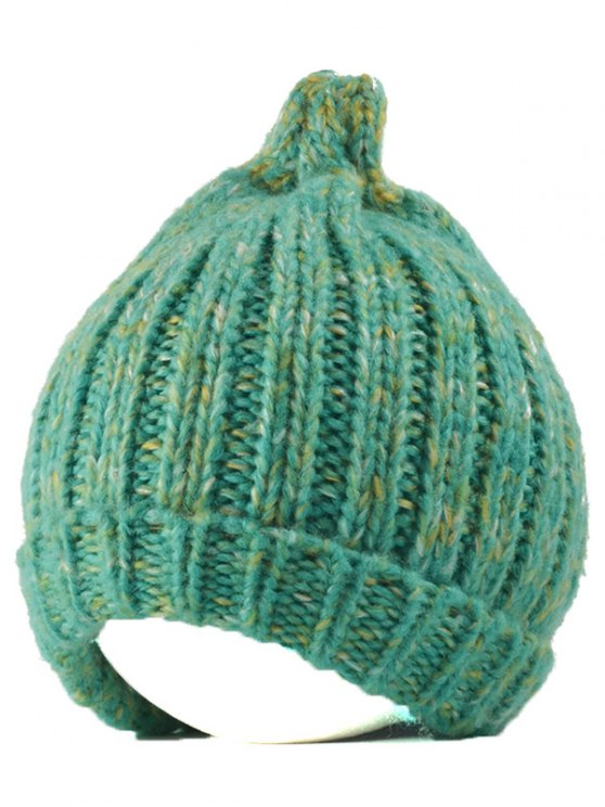 Knitting Patterns Chunky Crochet Tapered Hat - MINT GREEN  Mobile