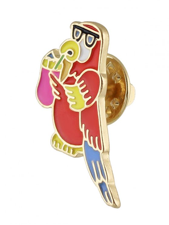 Adorn Bird Brooch -   Mobile