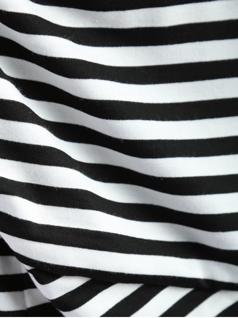 online Striped Surplice Cami Top - STRIPE ONE SIZE Mobile
