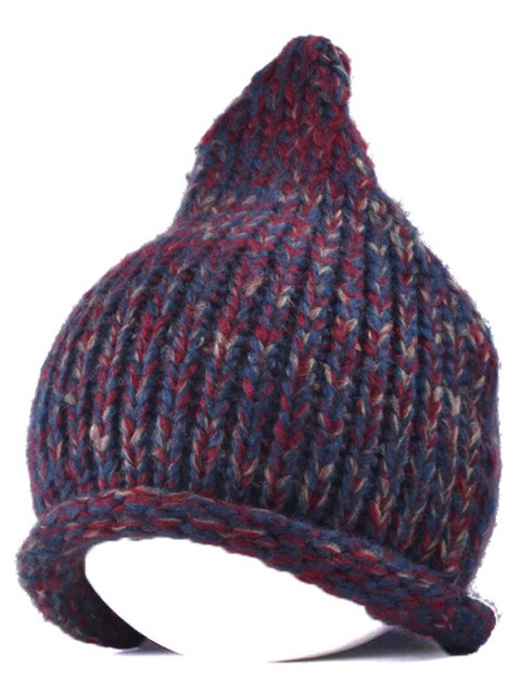 outfits Knitting Patterns Chunky Crochet Hat - WINE RED  Mobile
