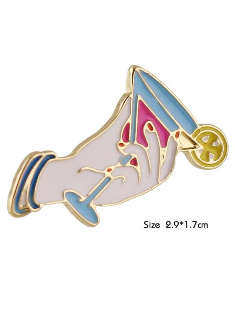 new Adorn Cup Brooch - WHITE  Mobile