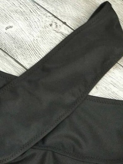 Cut Out Bandage Bikini Set - BLACK M Mobile