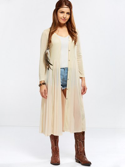 Duster Cardigan - NUDE ONE SIZE Mobile