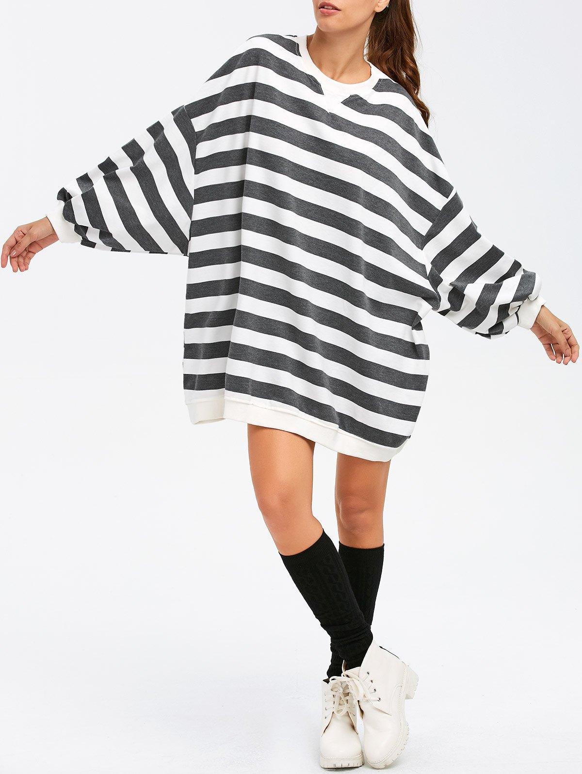 BF Style Stripe Sweatshirt
