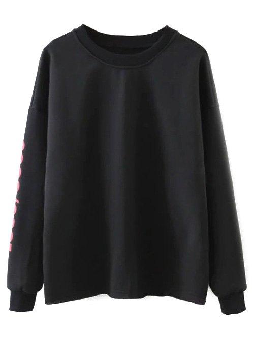 Letter Streetwear Sweatshirt