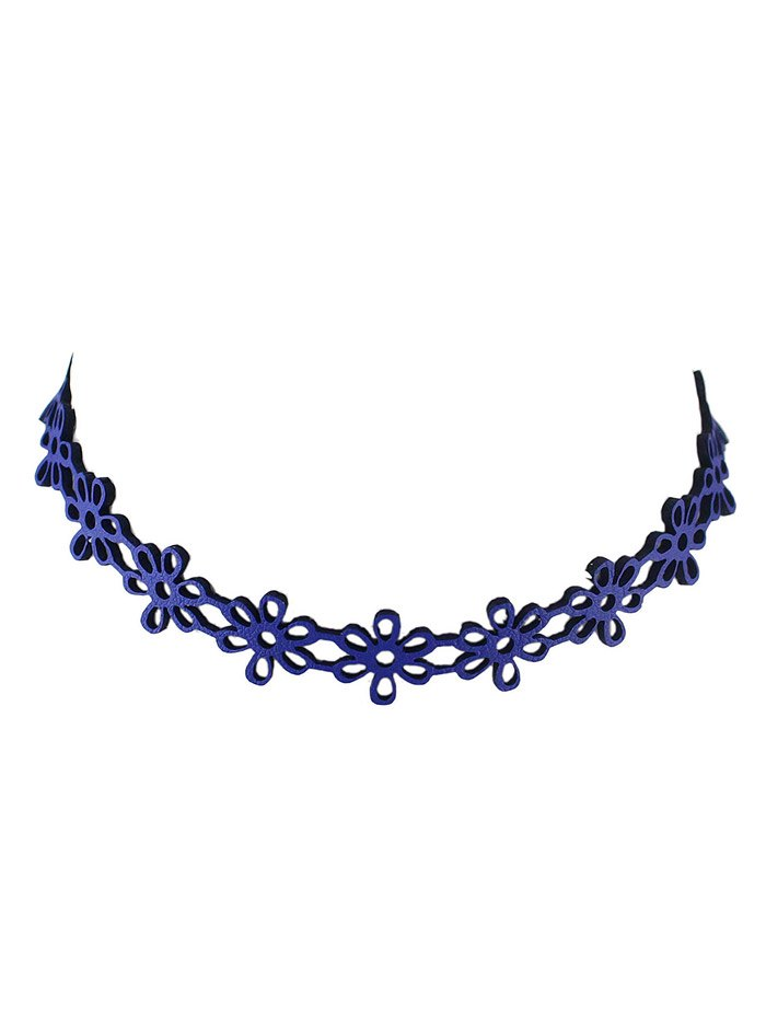 Hollow Flower Choker