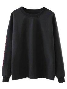 Streetwear Letter Loose Sweatshirt