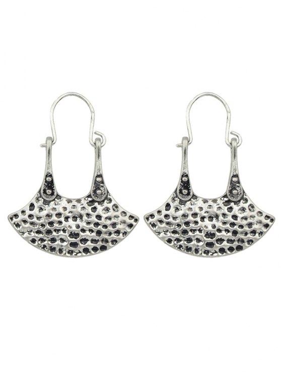 Handbag Shaped Earrings - SILVER  Mobile