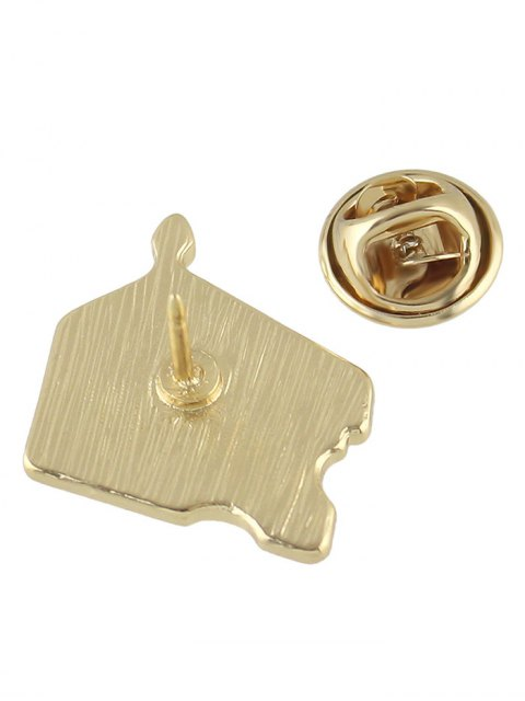 outfit Adorn Cake Brooch - YELLOW  Mobile